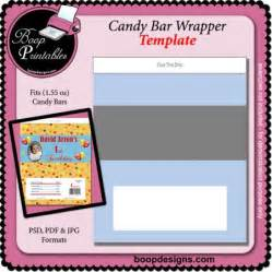 Candy Bar Wrapper Template Printable
