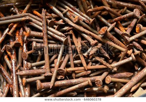 iron rusted rust nails nail rusting surface many metal deterioration shutterstock rusty becomes brown objects