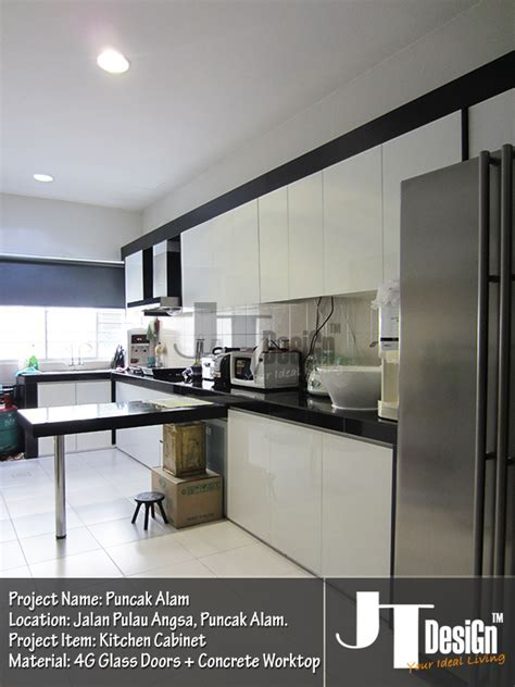 4G Glass Door Kitchen Cabinet   Kitchen Cabinet   JT DesiGn?