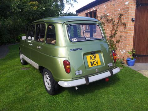 renault green renault 4 review and photos