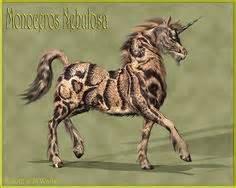 windstone african wild dog  grand unicorn figurine