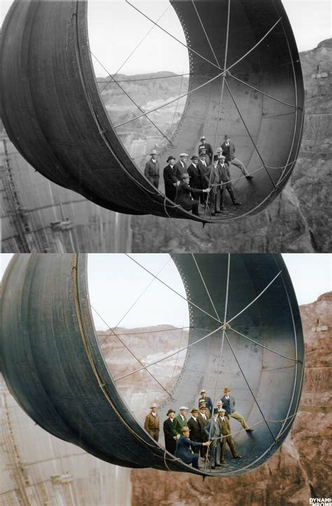 pipe au bureau the hoover dam construction c 1935 rebrn com
