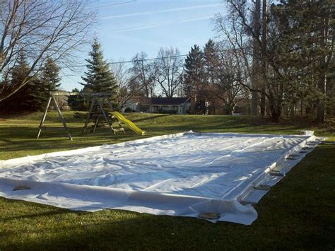 16 Best Images About Diy Ice Rink On Pinterest