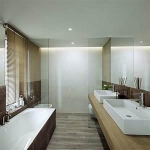 salle de bain zen avec des couleurs decoratives With salle de bain design avec boules lumineuses décoratives