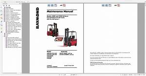 Raymond Forklift Technical Publication Library 2015 Dvd