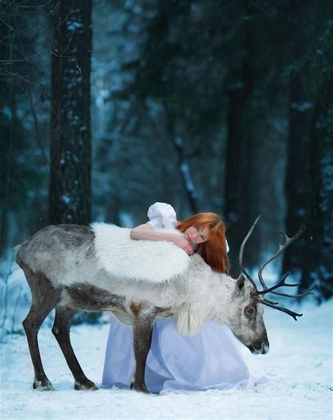 russian photographer captures fairy tale scenes  real