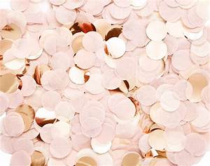 Blush Pink & Rose Gold Confetti – Paperboy