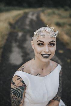 bald bride brides brides  tattoos bald hair tattoos