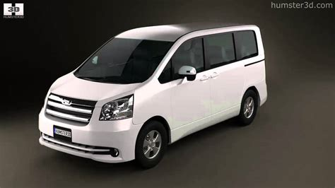 Toyota Voxy Hd Picture by Toyota Noah Voxy 2010 By 3d Model Store Humster3d