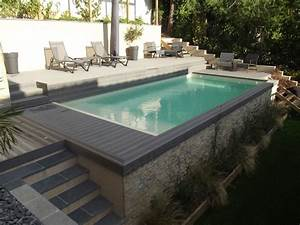 Photo D Amenagement Piscine : am nagement piscine ext rieure avec jardin flore bor ale ~ Premium-room.com Idées de Décoration