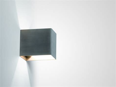 direct indirect light stainless steel wall l rigo by
