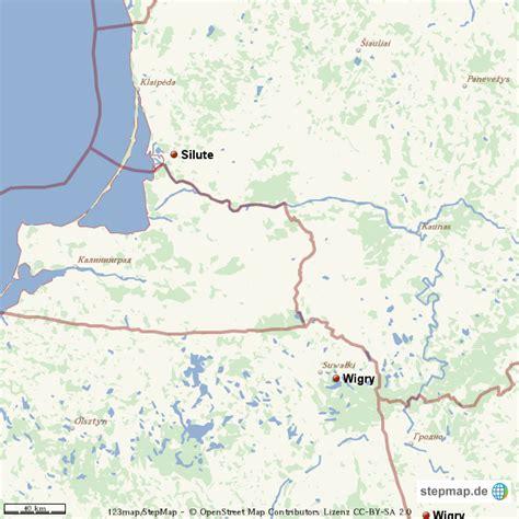 kurische nehrung karte  von mics landkarte fuer deutschland