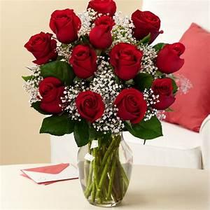 1 Dozen Roses – Sweet Lily's Flowers