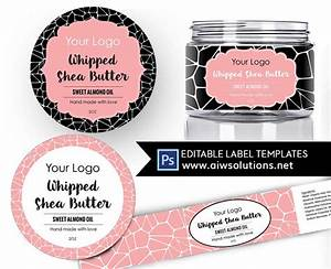 shea butter label template body butter label carrier oils With body butter label template