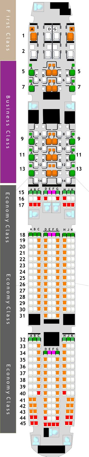 plan siege boeing 777 300er seating plan for boeing 777 300er jet etihad