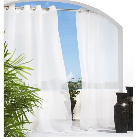 outdoor decor escape grommet outdoor curtain panel
