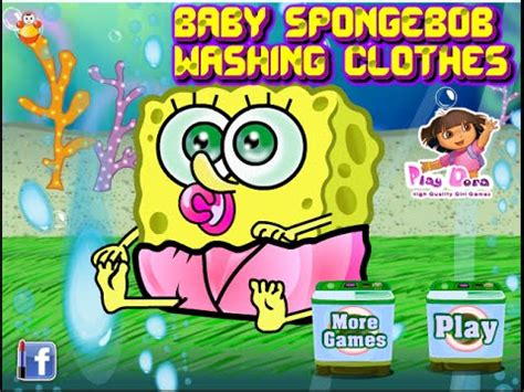 nick jr spongebob spongebob washing clothes 675 | hqdefault