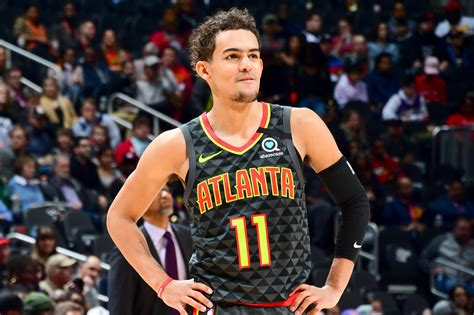 Trae young with the nasty cross and the quick trigger (via @@worldwidewob). Trae Young 'Frustrated' Season is Over, Looks Forward to Next Year