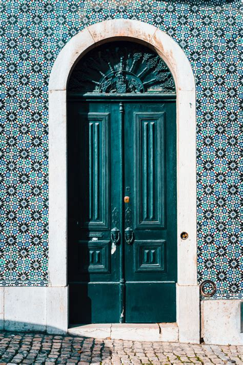 weather stripping doors replace door portuguese detail often lisbon change should front exterior replacement glazed tiles tradition colorful architecture inspect