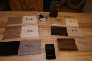 ebonizing wood cocina budget remodel diy wood stain