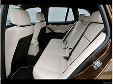 2010 BMW X1 Interior Rear Seats Wallpaper #282 1280x960