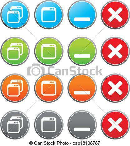 maximize minimize buttons suitable  user interface