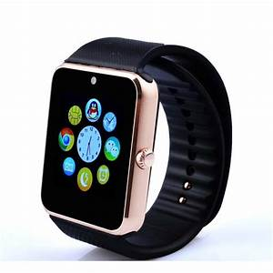 Smart Watch MI-1 Golden - Online Shopping in Pakistan