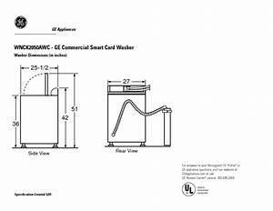 Profile Wnck2050awc Manuals