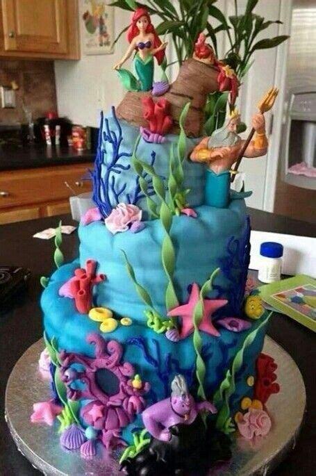 disney kuchen selber machen torte arielle die meerjungfrau ariel the mermaid cake cooking