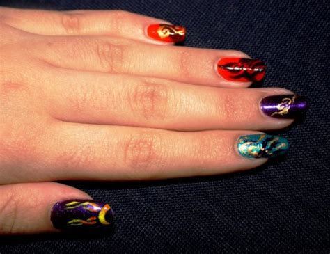 beautiful acrylic nail art designs tutorialchip