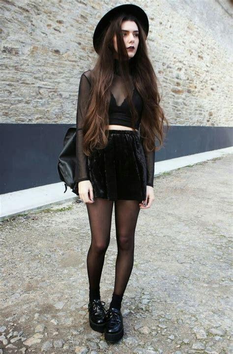 20 Ways To Wear All Black Outfits 2018 | FashionTasty.com