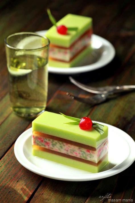 malaysian style pudding tapai rintik cendol desserts