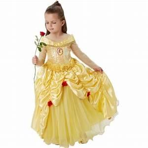 Deguisement Princesse Disney Adulte : d guisement belle disney fille princesse premium ~ Mglfilm.com Idées de Décoration