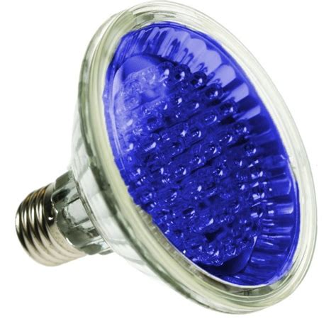 par led spotlight bulb  blue  led led lamps led par coloured