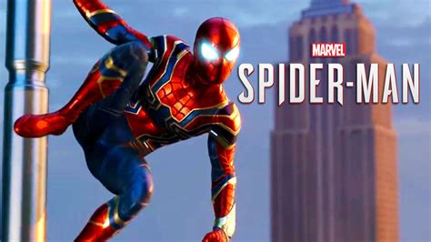 Marvel's Spiderman  Iron Spider Suit Reveal Trailer