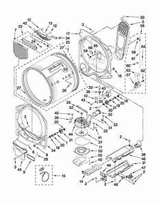 Maytag 27 U0026quot  Electric Dryer Parts