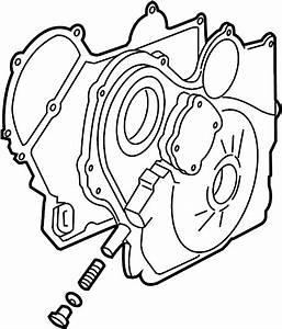 Pontiac Solstice Engine Timing Cover Gasket  Front