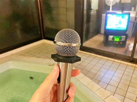 shower karaoke machine a onsen bath with a karaoke machine japan today