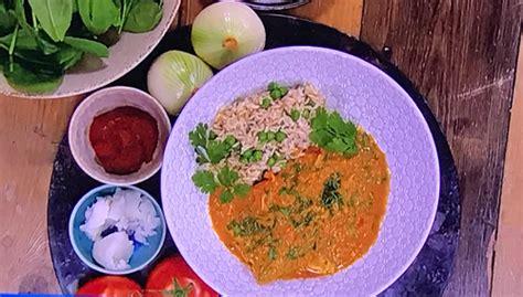 dr rupy chicken tikka masala  spinach recipe  steph