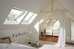 Petite Salle De Bain Ouverte Sur Chambre : am nager une salle de bains exemples suivre ~ Melissatoandfro.com Idées de Décoration