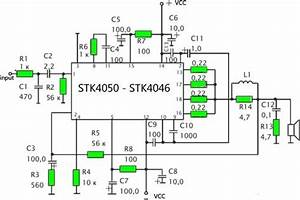 stk ic subwoofer amplifier circuit nerv With 2 x 50w ics amplifier with stk4191