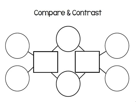 Three Bubble Graphic Organizer Template by August 2013 I Love 1st Grade