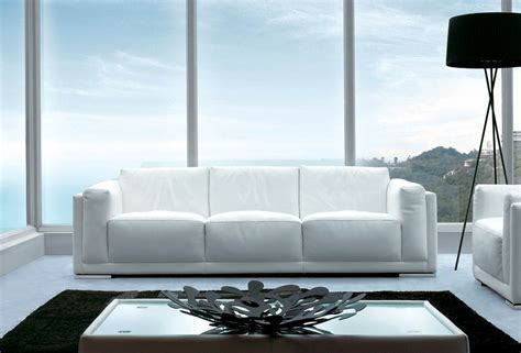 Soft Sofa Cushions by Sofas Pradi I White Leather 3 Seater Sofa Sofa World