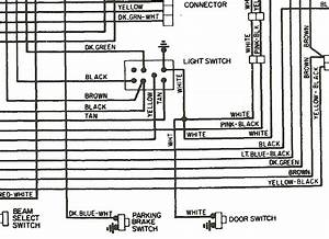 Wiring Diagram 1975 Dodge W200  Headlight Switch