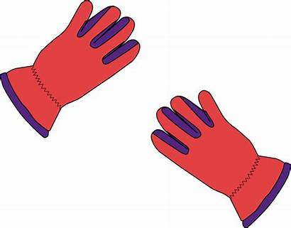 Gloves Glove Clip Clipart Vector Cliparts Boxing