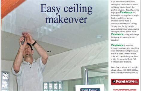 DIY easy ceiling makeover with PVC panels   Bathroom