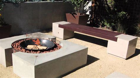 cinder block pit bench ideas