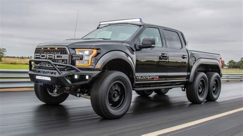 Hennessey Velociraptor 6x6 Offroad Pickup Truck Goes On Sale