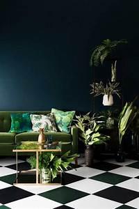 1000 idees sur le theme canape marron fonce sur pinterest With couleur bleu canard deco 7 vert deco de la peinture verte pour decorer son