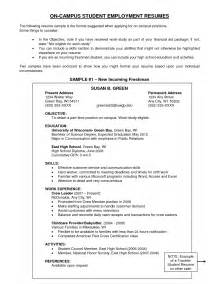 exles of objectives on a resume exle resume